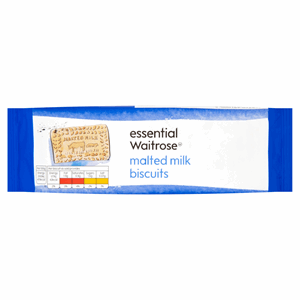Essential Waitrose Malted Milk Biscuits 200g Image