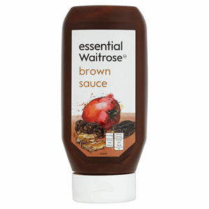 Essential Waitrose Brown Sauce 480g Image