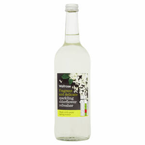 Waitrose Sparkling Elderflower Refresher 750ml Image