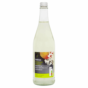 Waitrose Sparkling Cox Apple and Elderflower Refresher 750ml Image