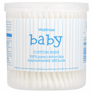 Waitrose Mini 200 Cotton Wool Buds Image