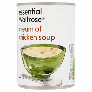 Essential Waitrose Cream of Chicken Soup 400g Image