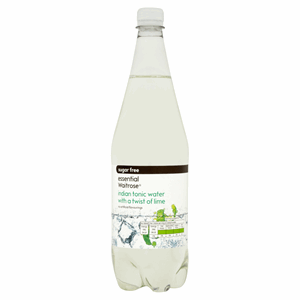 Essential Waitrose Sugar Free Indian Tonic Water with a Twist of Lime 1 Litre Image