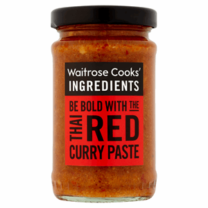 Waitrose Cooks' Ingredients Thai Red Curry Paste 100g Image
