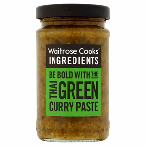 Waitrose Cooks' Ingredients Thai Green Curry Paste 100g Image