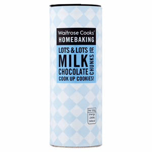 Waitrose Cooks' Homebaking Milk Chocolate Chunks 100g Image