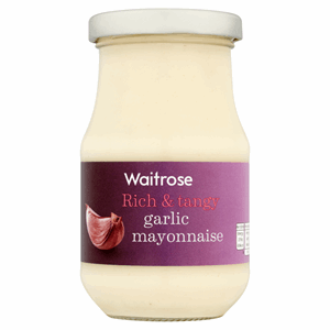Waitrose Garlic Mayonnaise 250ml Image