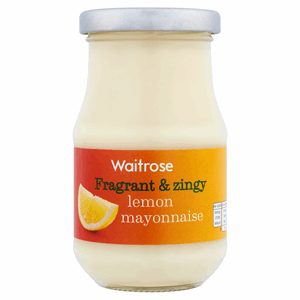 Waitrose Lemon Mayonnaise 250ml Image