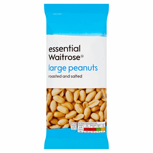 Essential Waitrose Large Peanuts 200g Image