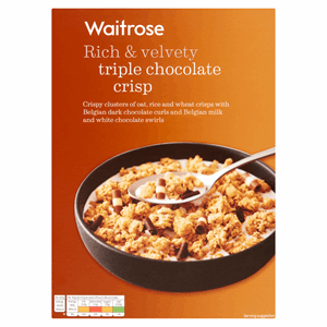 Waitrose Triple Chocolate Crisp 500g Image