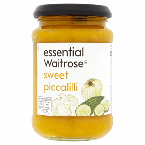 Essential Waitrose Sweet Piccalilli 275g Image