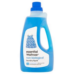 Essential Waitrose Non-Biological Laundry Liquid Detergent 20 Washes 1.5L Image