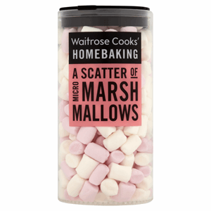 Waitrose Cooks' Homebaking Micro Marshmallows 25g Image