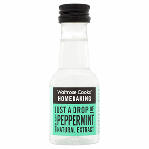 Waitrose Cooks' Homebaking American Peppermint Natural Extract 38ml Image