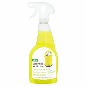 Essential Waitrose Anti-Bacterial Multi Surface Cleaner Citrus & Ginger 500ml Image