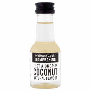 Waitrose Cooks' Homebaking Just a Drop of Coconut Natural Flavour 38ml Image