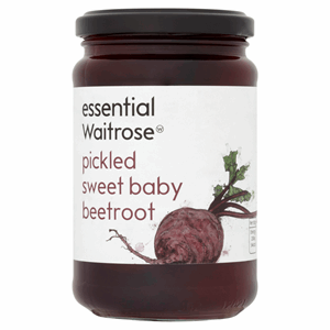 Essential Waitrose Pickled Sweet Baby Beetroot 340g Image