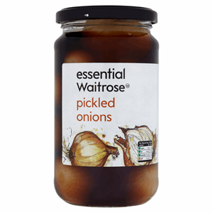 Essential Waitrose Pickled Onions 440g Image