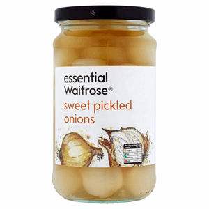 Essential Waitrose Sweet Pickled Onions 440g Image