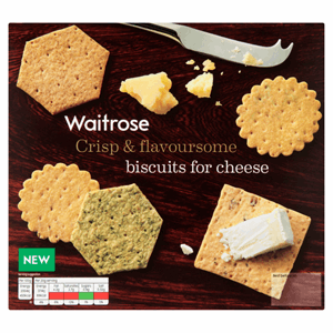 Waitrose Biscuits for Cheese 300g Image