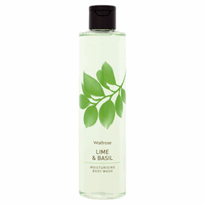 Waitrose Lime & Basil Moisturising Body Wash 250ml Image