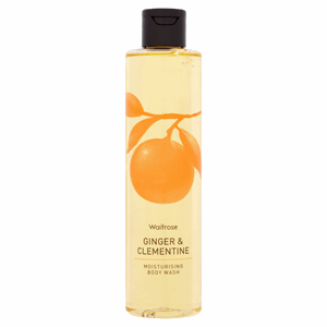 Waitrose Ginger & Clementine Moisturising Body Wash 250ml Image