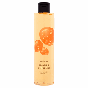 Waitrose Amber & Bergamot Moisturising Body Wash 250ml Image