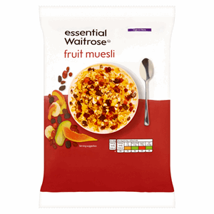 Essential Waitrose Fruit Muesli 1kg Image