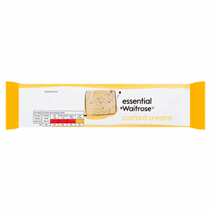 Essential Waitrose Custard Creams 150g Image
