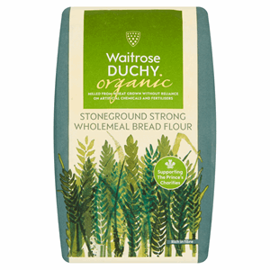 Waitrose Duchy Organic Stoneground Strong Wholemeal Bread Flour 1.5kg Image