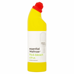 Essential Waitrose Thick Bleach Citrus 750ml Image
