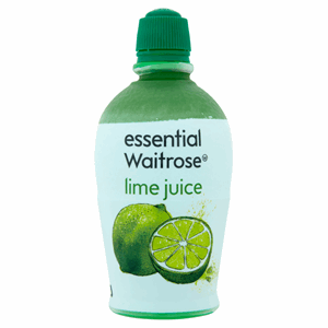 Essential Waitrose Lime Juice 125ml Image