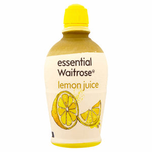 Essential Waitrose Lemon Juice 125ml Image