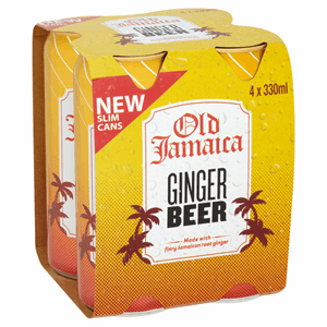 Old Jamaica Ginger Beer 4 x 330ml Image