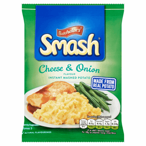 Batchelors Smash Cheese & Onion Instant Mash Potato 107g Image