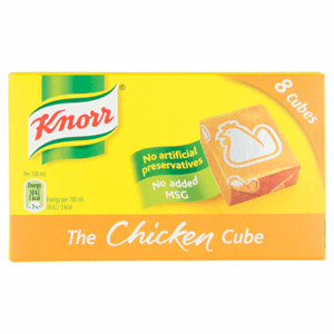 Knorr Chicken Stock Cubes 8 x 10g Image