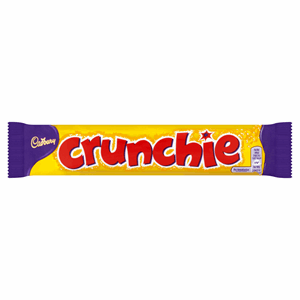 Cadbury Crunchie Chocolate Bar 40g Image