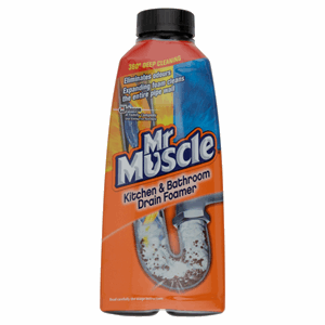 Mr. Muscle Kitchen & Bathroom Drain Foamer 500 ml Image