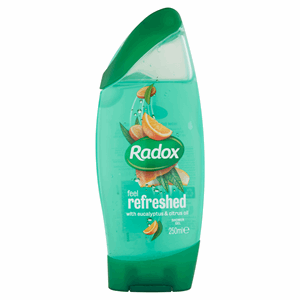 Radox Feel Refreshed Shower Gel 250ml Image