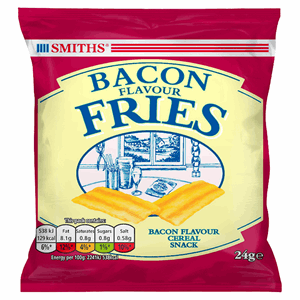 Smiths Bacon Snack 24g Image