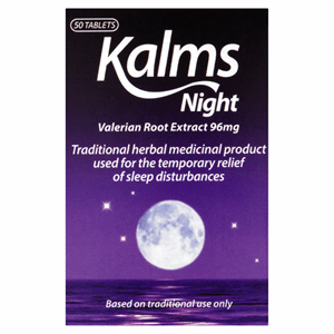 Kalms Night 50 Tablets Image