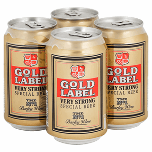 Gold Label Very Strong Special Beer 4 x 330ml Image