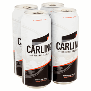 Carling Original Lager 4 x 500ml Image