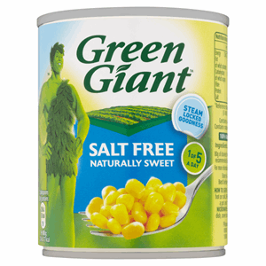 Green Giant Salt Free 198g Image