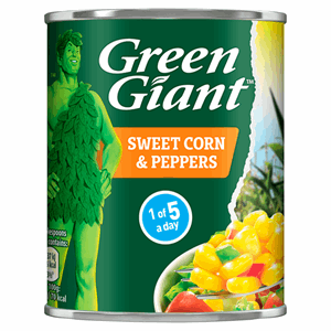 Green Giant Sweet Corn & Peppers 198g Image