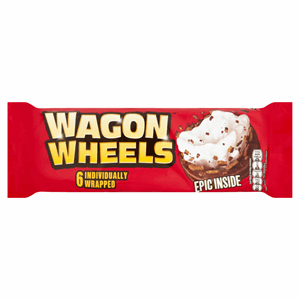 Wagon Wheels 6 Individually Wrapped Image