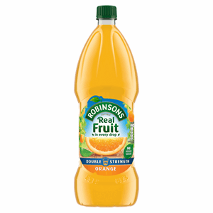 Robinsons Double Concentrate Orange Squash No Added Sugar 1.75L Image