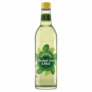 Robinsons Crushed Lime & Mint Fruit Cordial 500ml Image