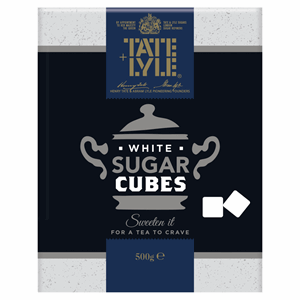 Tate & Lyle Fairtrade Cane Sugar White Cubes 500g Image