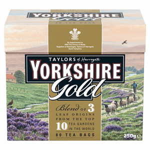 Taylors of Harrogate Yorkshire Gold 80 Tea Bags 250g Image